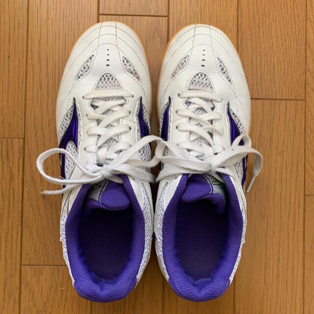 MIZUNO(ミズノ)の卓球 シューズ 24.0 スポーツ/アウトドアのスポーツ/アウトドア その他(卓球)の商品写真