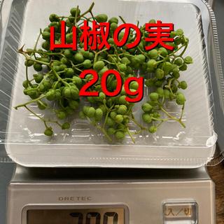 山椒 実 20g(野菜)