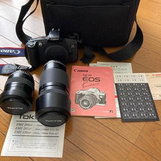 キヤノン(Canon)のCanon NEW EOS kiss フイルムカメラ セット(フィルムカメラ)