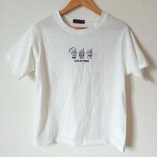 lovetoxic - ドリンク刺しゅう半袖Tシャツ 150