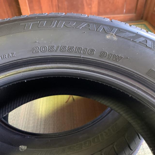 BRIDGESTONE(ブリヂストン)のブリヂストン 夏タイヤ ヴォクシー 16インチ 自動車/バイクの自動車(タイヤ)の商品写真