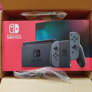 Nintendo Switch - 新品未開封 NintendoSwitch グレー