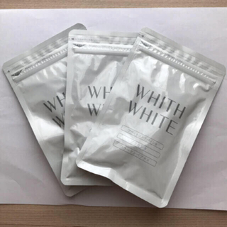 WHITH WHITE フィス ホワイト 飲む日焼け止め 3袋