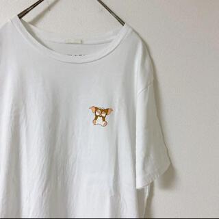 GU - GU ジーユー グレムリンプリントTシャツ ギズモ モグワイ バックプリント