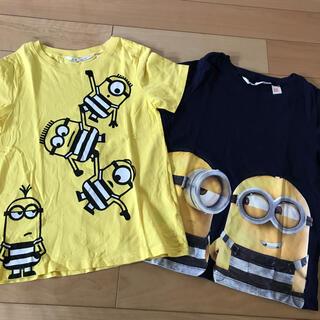 エイチアンドエム(H&M)のH&M ミニオン Tシャツ 2枚セット(Tシャツ/カットソー)