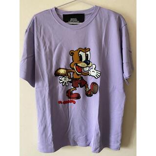 マークジェイコブス(MARC JACOBS)の【新品未使用】MARC JACOBS スクワーリープリントTシャツ(Tシャツ(半袖/袖なし))
