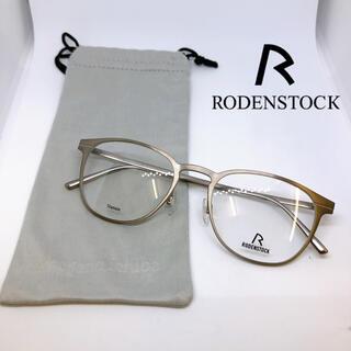 定62,640円品 未使用 保管品 RODENSTOCK 眼鏡 フレーム チタン