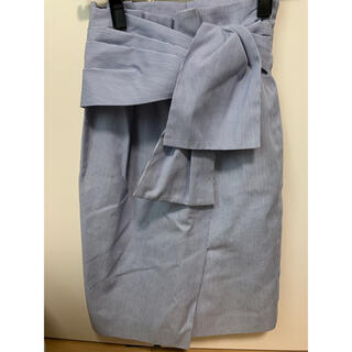 ジャスグリッティー(JUSGLITTY)のジャスグリッティーストライプタイトスカート(ひざ丈スカート)