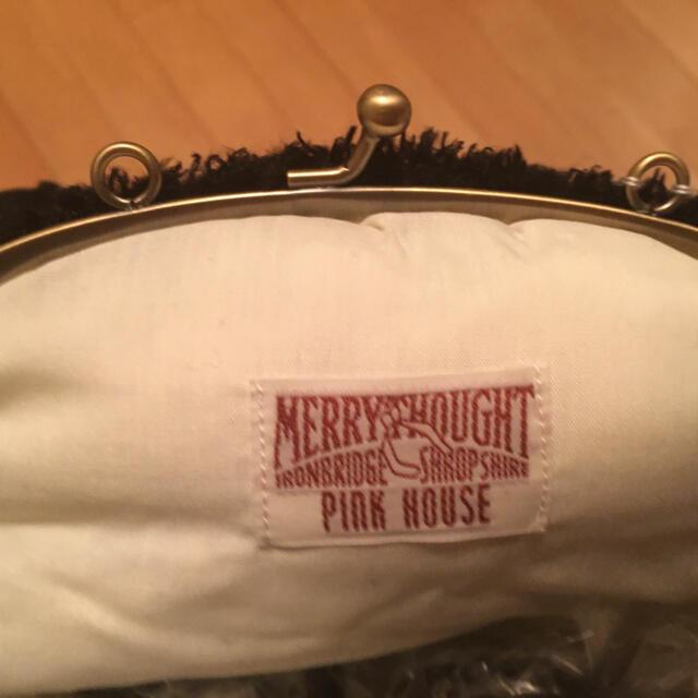 PINK HOUSE(ピンクハウス)のレア❤️ピンクハウス🎀メリーソート社コラボ チーキーショルダーバッグ エンタメ/ホビーのおもちゃ/ぬいぐるみ(ぬいぐるみ)の商品写真