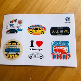 フォルクスワーゲン(Volkswagen)のステッカー(ステッカー)