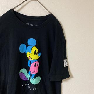 ディズニー(Disney)のディズニー neff ミッキーマウスコラボプリントTシャツ Disney(Tシャツ/カットソー(半袖/袖なし))