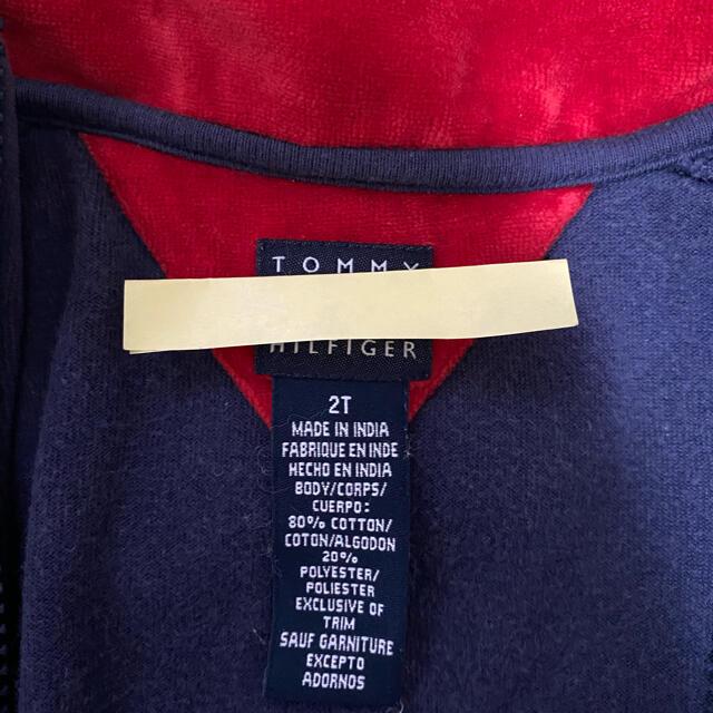 TOMMY HILFIGER(トミーヒルフィガー)のトミーヒルフィガー 2T アウター キッズ/ベビー/マタニティのキッズ服男の子用(90cm~)(ジャケット/上着)の商品写真
