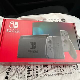 ニンテンドースイッチ(Nintendo Switch)の5月11日購入 Nintendo Switch 本体  グレー 新品未使用(家庭用ゲーム機本体)