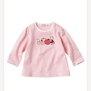 ファミリア(familiar)の長袖Tシャツ トップス ファミリア 子供服 90(Tシャツ/カットソー)