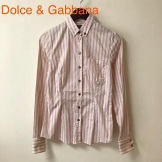 ドルチェアンドガッバーナ(DOLCE&GABBANA)のDolce & Gabbana ドルチェ&ガッバーナ ボタンシャツ サイズ38(シャツ/ブラウス(長袖/七分))