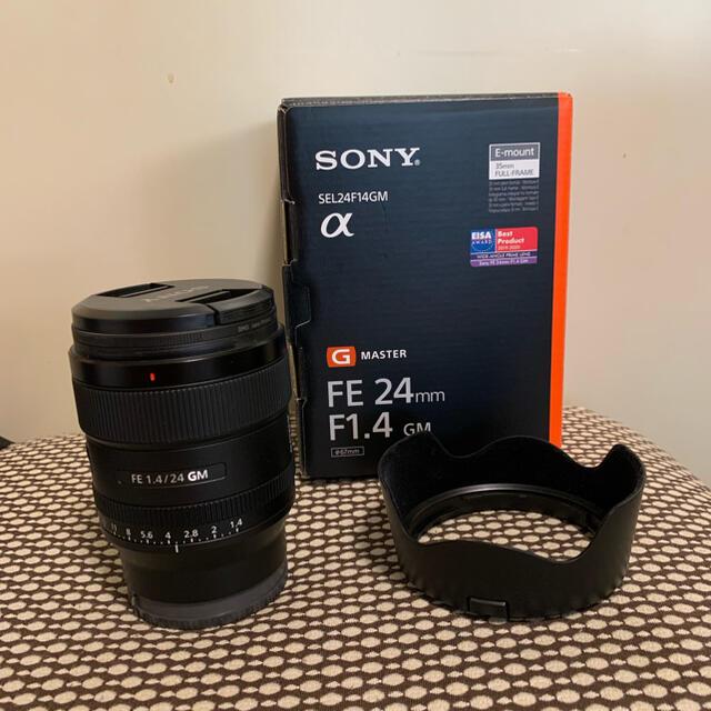 SONY(ソニー)のSONY 保証期間22年3月まで SEL24F14GM 最終値下げフィルター付  スマホ/家電/カメラのカメラ(レンズ(単焦点))の商品写真