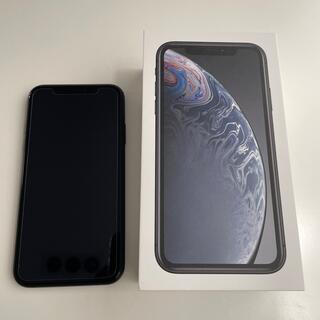 iPhone - iPhone XR 128gb ブラック 美品 SIMフリー