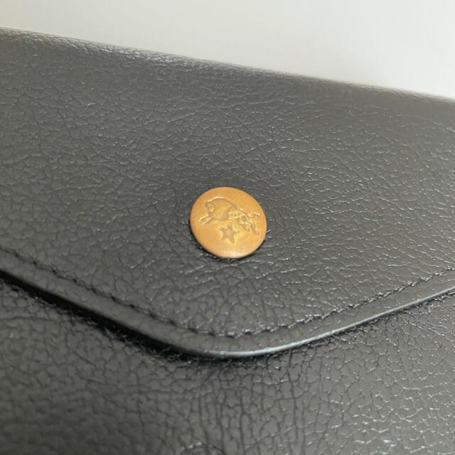 IL BISONTE(イルビゾンテ)のイルビゾンテ 二つ折り財布 ブラック メンズのファッション小物(折り財布)の商品写真