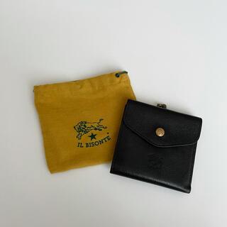 IL BISONTE - イルビゾンテ 二つ折り財布 ブラック
