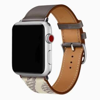 AppleWatch 時計 バンド 革  Apple レザー 44mm 42mm