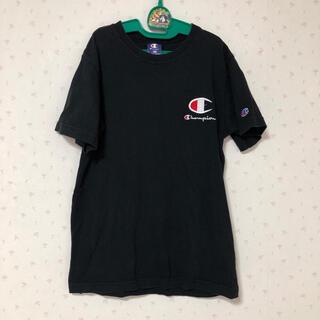 Champion - 160 チャンピオン 黒 半袖 Tシャツ