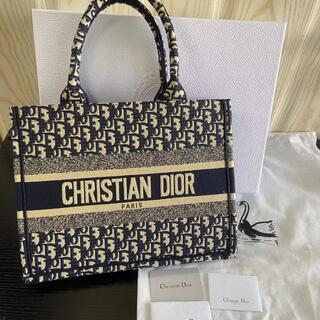 Christian Dior - Dior ディオールブックトート ネイビー トートバッグ