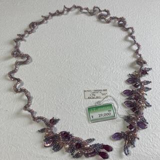 エムアンドエム(M&M)のハンドメイド ビーズ ネックレス メガネチェーン(ネックレス)