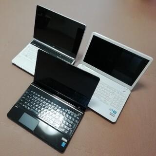 エヌイーシー(NEC)のHDDなし NEC LaVie 3台まとめて(ノートPC)