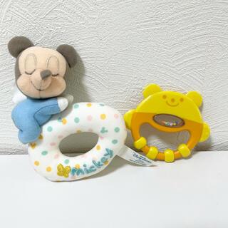 combi - ミッキー コンビ くま ラトルセット
