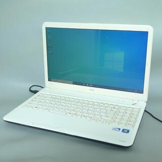 エヌイーシー(NEC)のNEC PC-LS150DS1YW Pentium 4GB 320G win10(ノートPC)