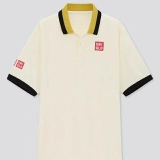 UNIQLO - UNIQLO ポロシャツ XL OFF WHITE 錦織圭 NK ドライ EX