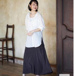 PLST - *新品*シアーコットンシャツ オフホワイト M  プラステ