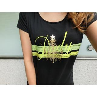 Rady - Rady かすれシャンデリア Tシャツ 半袖 ネオンイエロー グリーン