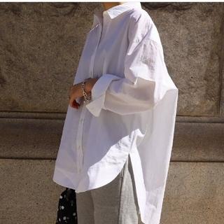 DEUXIEME CLASSE - MACHATT マチャット オーバーシャツ F ホワイト 新品タグ付き