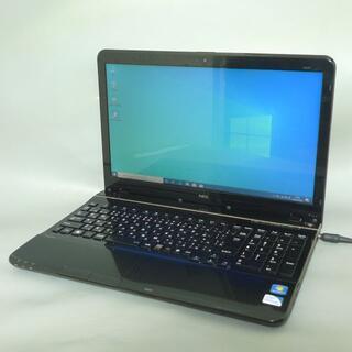 エヌイーシー(NEC)のWin10 NEC PC-LS150HS6B Pentium 4GB 500G(ノートPC)