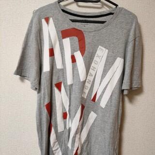 アルマーニエクスチェンジ(ARMANI EXCHANGE)のアルマーニエクスチェンジ メンズ Tシャツ サイズM グレー バックロゴ(Tシャツ/カットソー(半袖/袖なし))