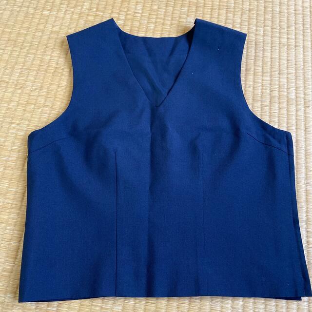 中学生 高校生 制服 プリーツスカート ベスト レディースのトップス(その他)の商品写真
