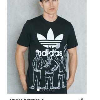 アディダス(adidas)の新品アディダスオリジナル ロゴT (Tシャツ/カットソー(半袖/袖なし))