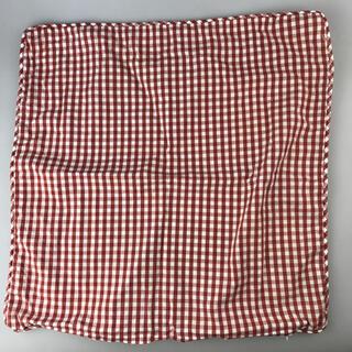 カネボウ(Kanebo)のカネボウギンガムチェッククッションカバー 45×45cm 綿100%(クッションカバー)