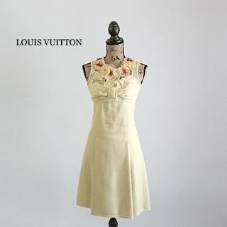 ルイヴィトン(LOUIS VUITTON)のLOUIS VUITTON ルイヴィトン ワンピース ドレス(ひざ丈ワンピース)
