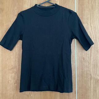 ユニクロ(UNIQLO)のユニクロ リブ トップス(Tシャツ(半袖/袖なし))