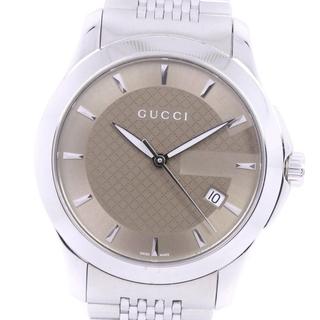 グッチ(Gucci)のアナログ表示グッチ Gタイムレス   126.4  ステンレススチール(腕時計(アナログ))