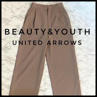 ビューティアンドユースユナイテッドアローズ(BEAUTY&YOUTH UNITED ARROWS)のBEAUTY&YOUTH UNITED ARROWS ワイドパンツ Sサイズ(カジュアルパンツ)