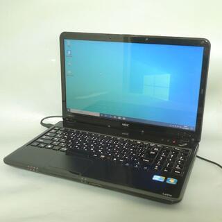 エヌイーシー(NEC)のWin10 NEC PC-LS550DS6B Core i5 新品SSD(ノートPC)