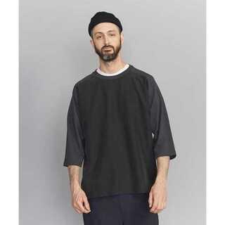 ビューティアンドユースユナイテッドアローズ(BEAUTY&YOUTH UNITED ARROWS)のBY コンビ ファブリック ワイド フォルム 6SL Tシャツ(Tシャツ/カットソー(半袖/袖なし))