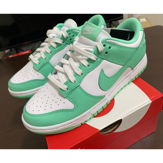 NIKE - nike dunk low GREEN GLOW 26.0