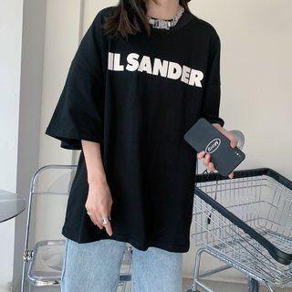 Jil Sander - JIL SANDER ジルサンダー Tシャツ ブラック