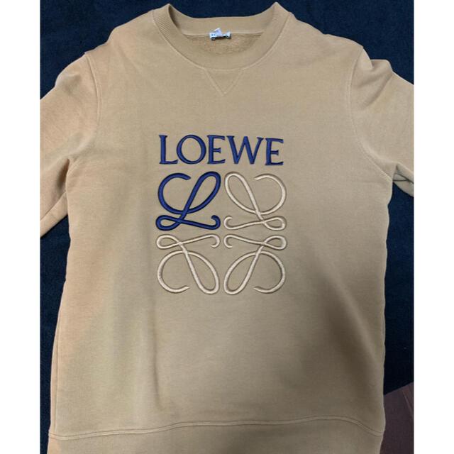 LOEWE(ロエベ)のLOEWE ロエベ ロゴ刺繡 スウェット  メンズのトップス(スウェット)の商品写真