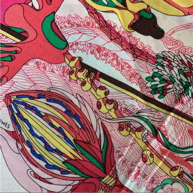 カシミルとシルク ストール スヌード レディースのファッション小物(マフラー/ショール)の商品写真