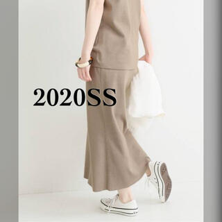 IENA - 【新品タグ付★IENA】イエナ 3/60 cotton ニットスカート